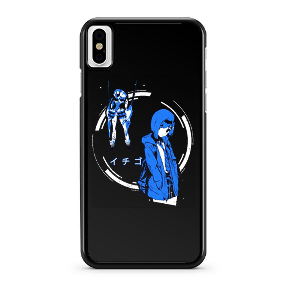 Ichigo Delphinium Darling in the Franxx iPhone X Case iPhone XS Case iPhone XR Case iPhone XS Max Case