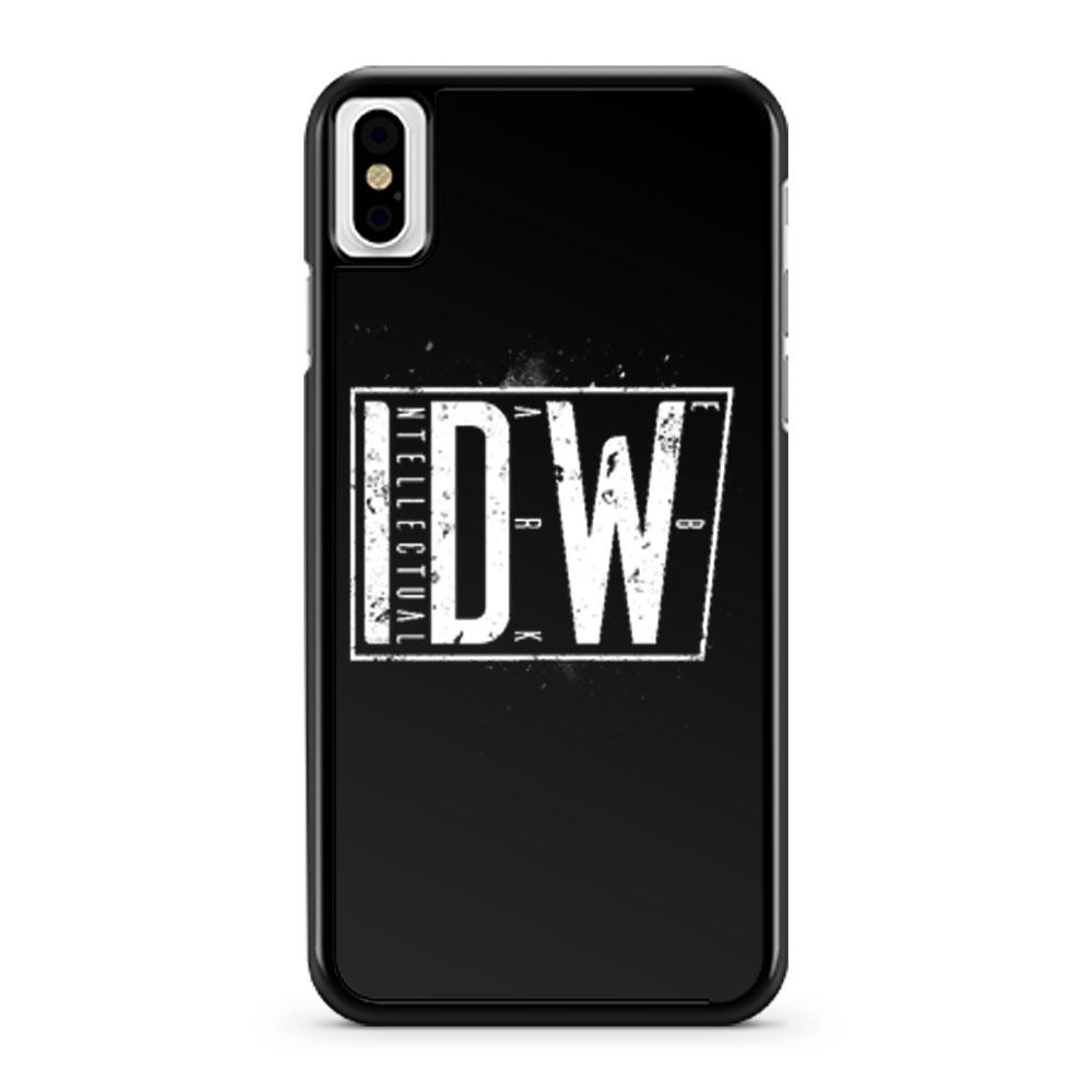 Intellectual Dark Web iPhone X Case iPhone XS Case iPhone XR Case iPhone XS Max Case