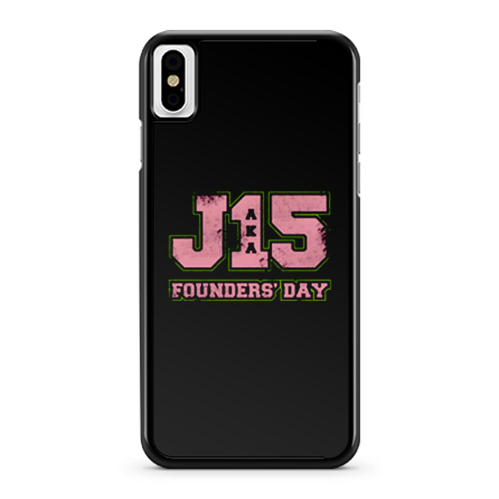 J15 Founders Day iPhone X Case iPhone XS Case iPhone XR Case iPhone XS Max Case