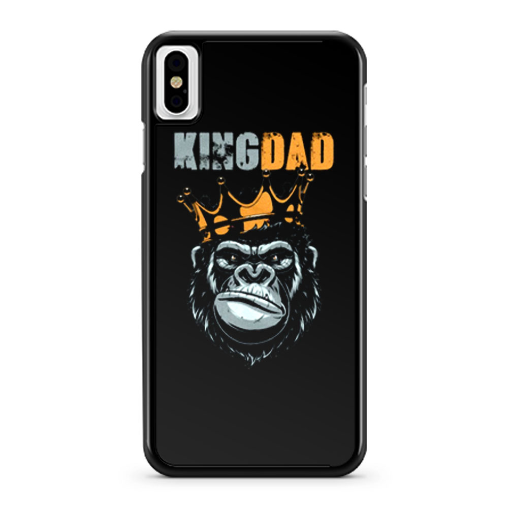 KIng Dad Fathers King Kong iPhone X Case iPhone XS Case iPhone XR Case iPhone XS Max Case