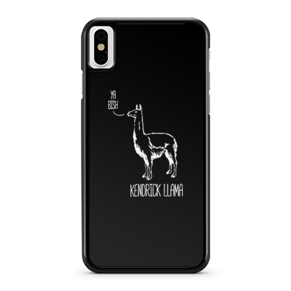 Kendrick Llama iPhone X Case iPhone XS Case iPhone XR Case iPhone XS Max Case