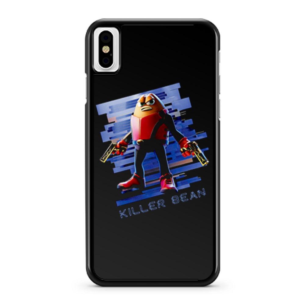 Killer Bean iPhone X Case iPhone XS Case iPhone XR Case iPhone XS Max Case