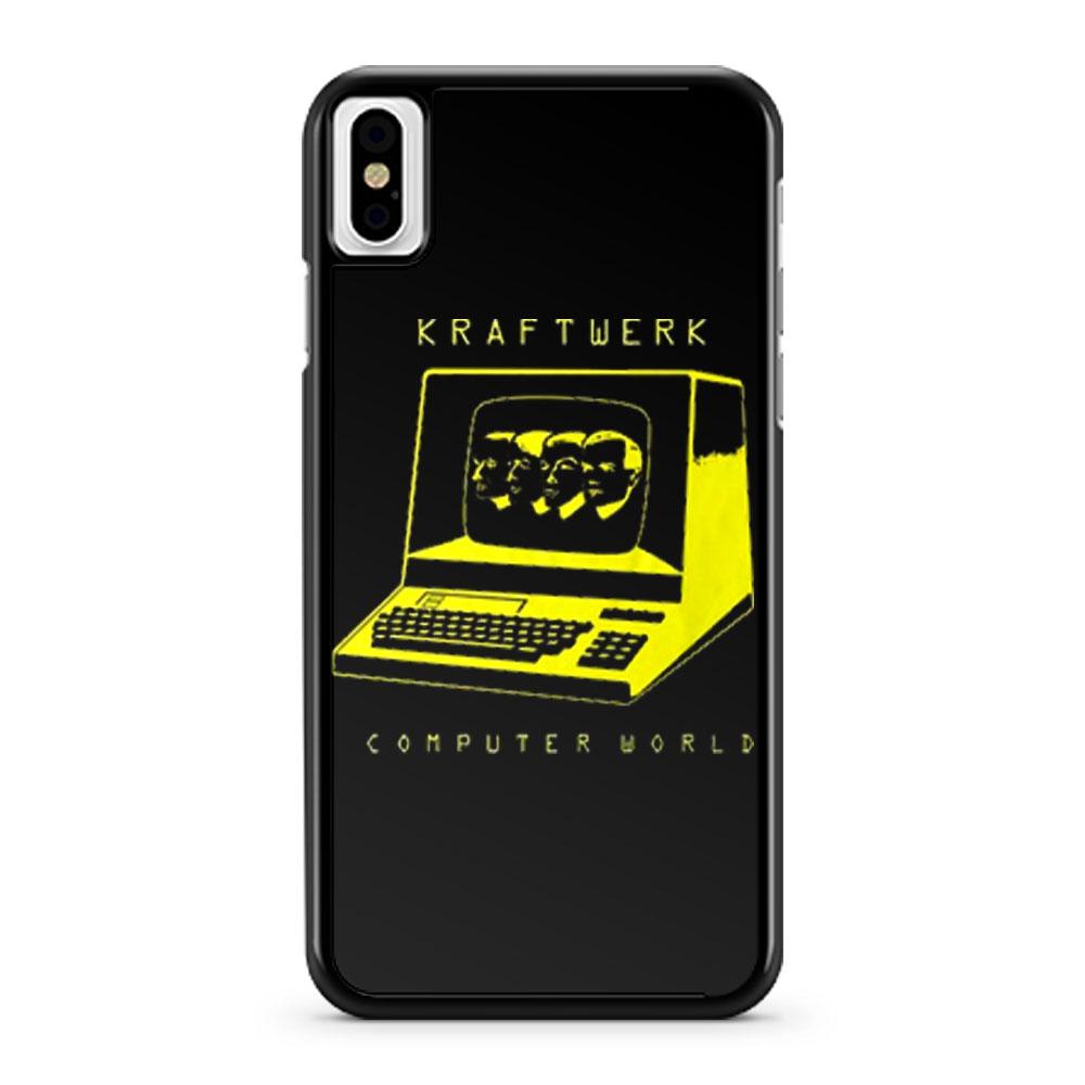 Kraftwerk Computer World iPhone X Case iPhone XS Case iPhone XR Case iPhone XS Max Case