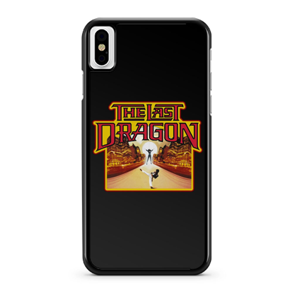 Kung Fu Classic The Last Dragon iPhone X Case iPhone XS Case iPhone XR Case iPhone XS Max Case