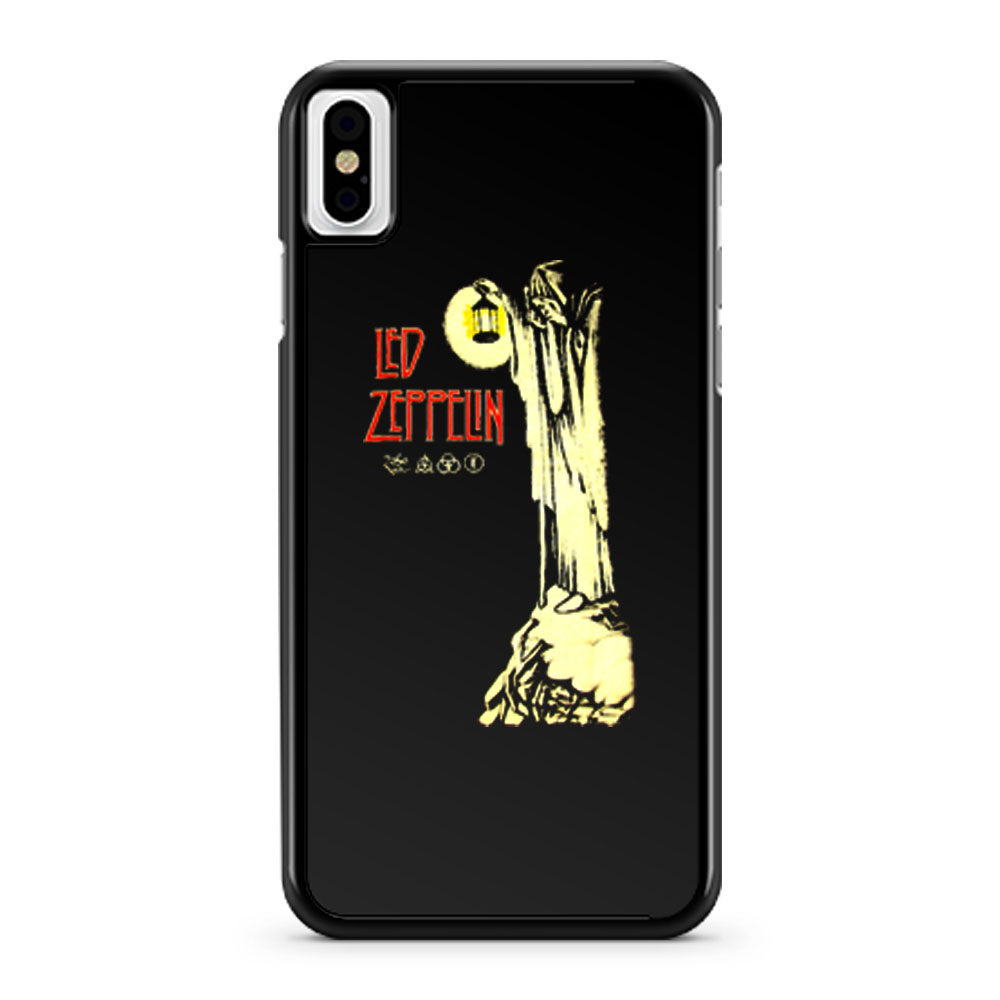 Led Zeppelin Hermit Plant Page Stairway To Heaven iPhone X Case iPhone XS Case iPhone XR Case iPhone XS Max Case