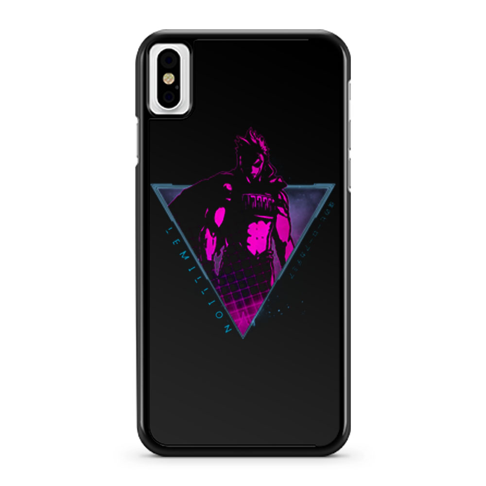 Lemillion Mirio Togata My Hero Academia iPhone X Case iPhone XS Case iPhone XR Case iPhone XS Max Case