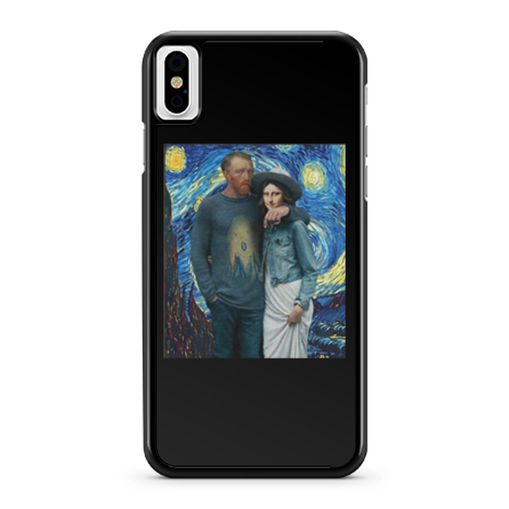 Lisa Van Gogh Starry Night iPhone X Case iPhone XS Case iPhone XR Case iPhone XS Max Case