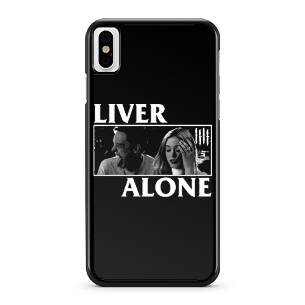 Liver Alone Horror Punk Halloween iPhone X Case iPhone XS Case iPhone XR Case iPhone XS Max Case