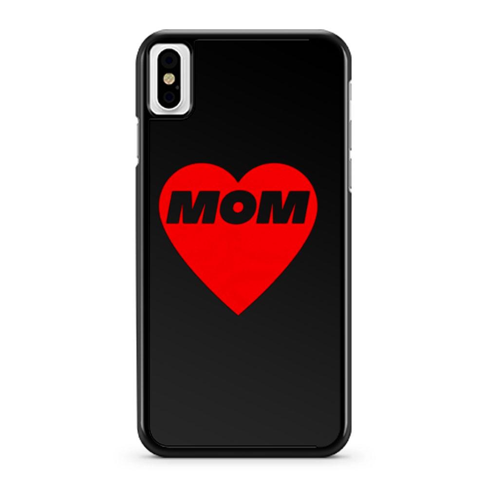 MOM LOVE iPhone X Case iPhone XS Case iPhone XR Case iPhone XS Max Case