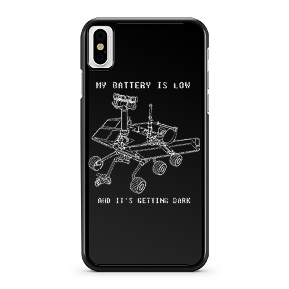 Mars Rover Opportunity NASA Science iPhone X Case iPhone XS Case iPhone XR Case iPhone XS Max Case