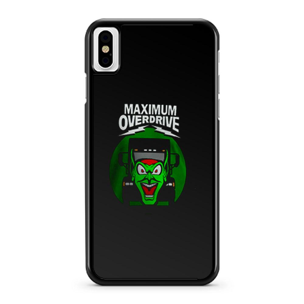 Maximum Overdrive iPhone X Case iPhone XS Case iPhone XR Case iPhone XS Max Case