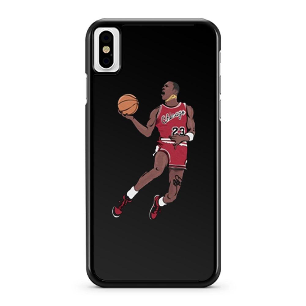 Michael Jordan NBA champion iPhone X Case iPhone XS Case iPhone XR Case iPhone XS Max Case
