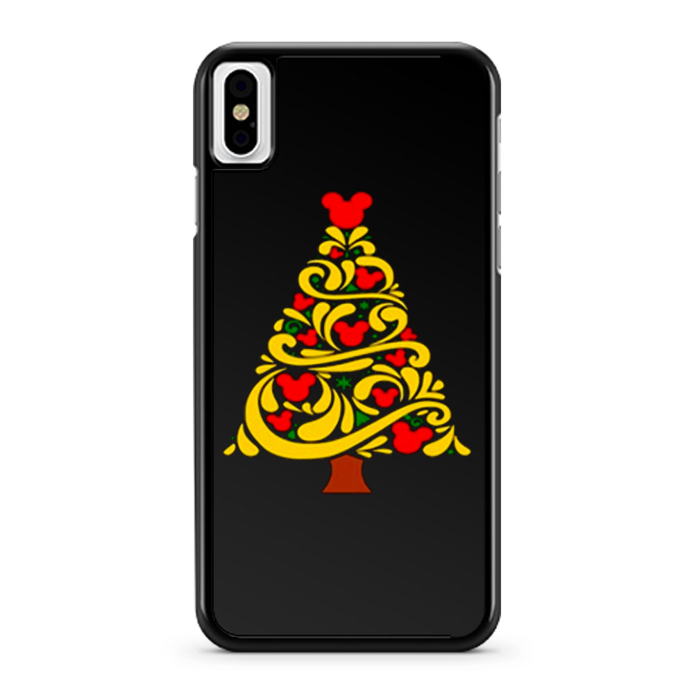 Mickey Christmas iPhone X Case iPhone XS Case iPhone XR Case iPhone XS Max Case