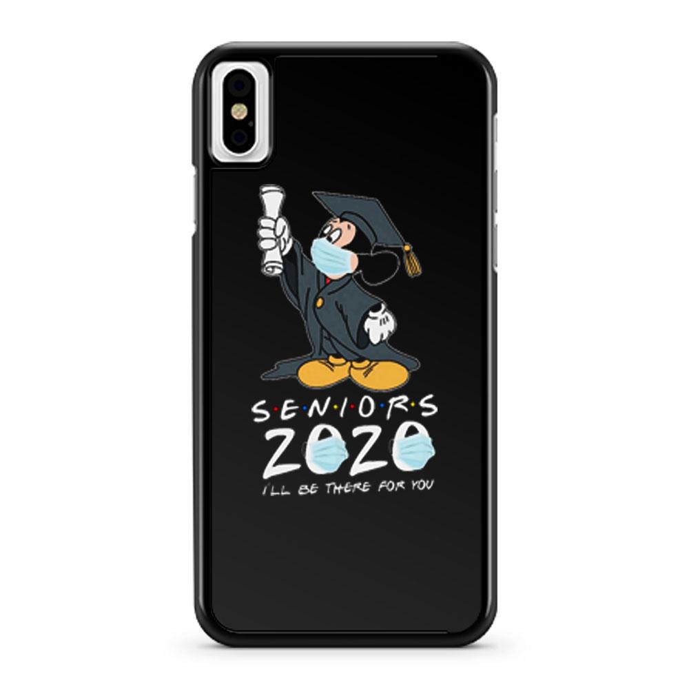 Mickey Seniors 2020 Quarantined iPhone X Case iPhone XS Case iPhone XR Case iPhone XS Max Case