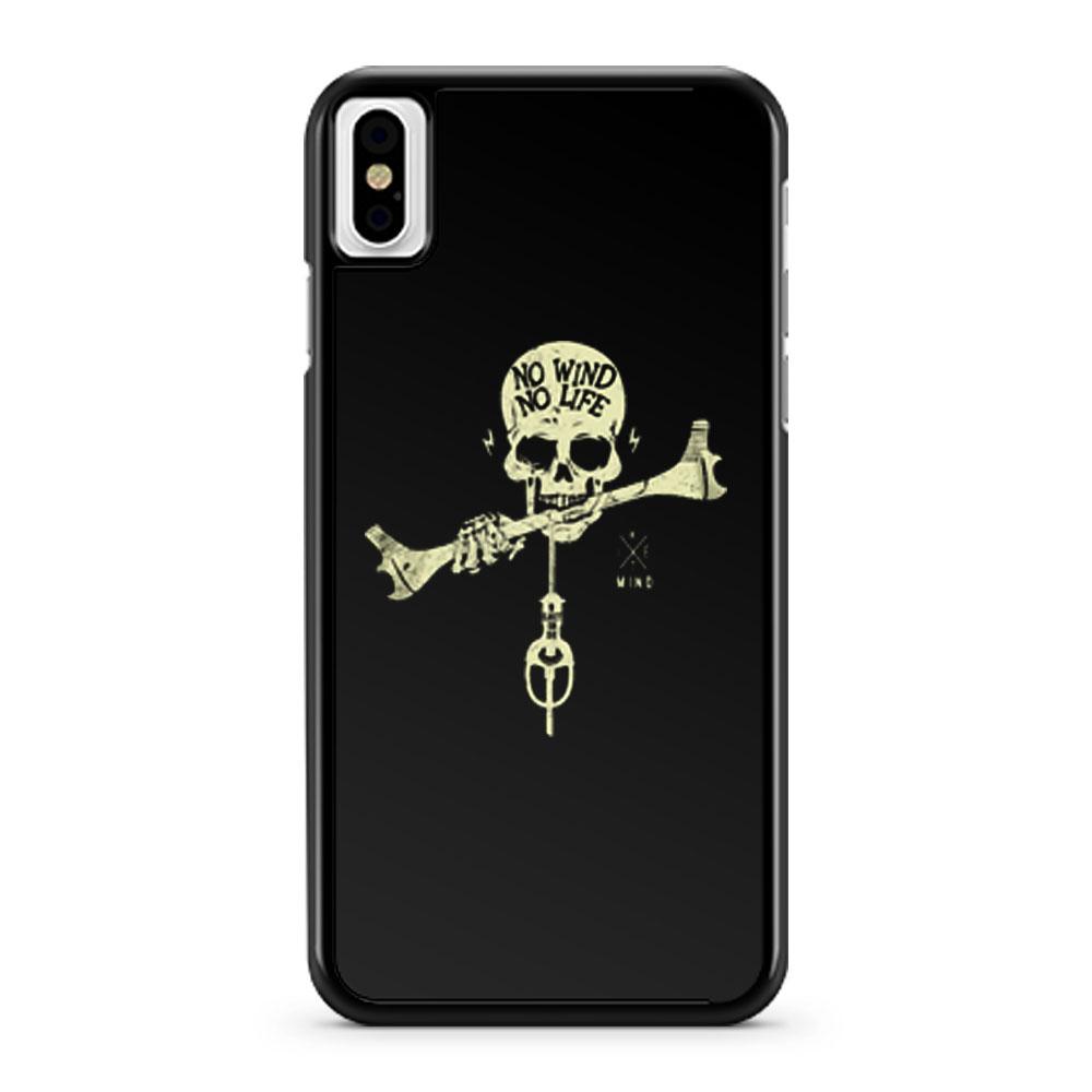 No Wind No Life iPhone X Case iPhone XS Case iPhone XR Case iPhone XS Max Case