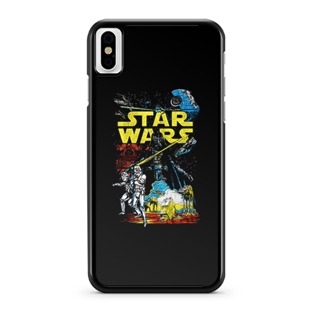 Star Wars Classis Movie iPhone X Case iPhone XS Case iPhone XR Case iPhone XS Max Case