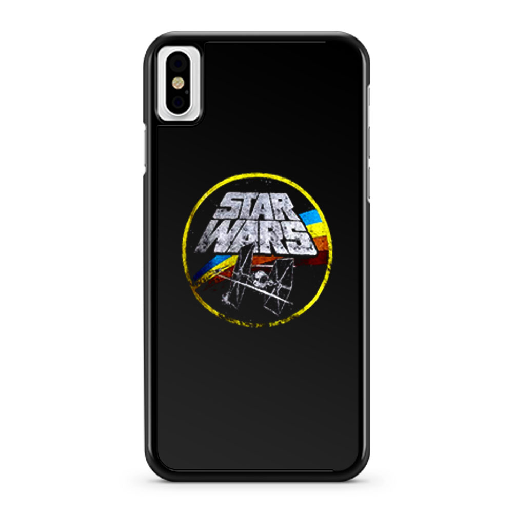 Star Wars Retro Classic Logo iPhone X Case iPhone XS Case iPhone XR Case iPhone XS Max Case