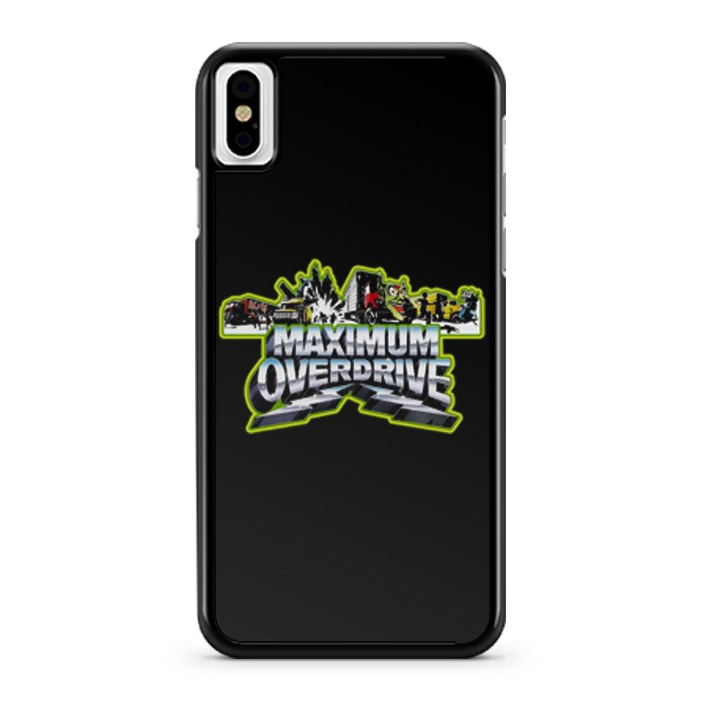 Stephen King Classic Maximum Overdrive iPhone X Case iPhone XS Case iPhone XR Case iPhone XS Max Case