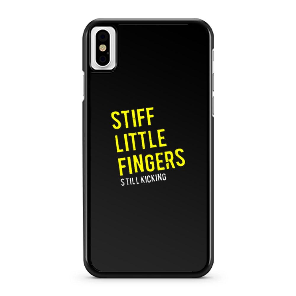 Stiff Little Fingers new tee black white iPhone X Case iPhone XS Case iPhone XR Case iPhone XS Max Case
