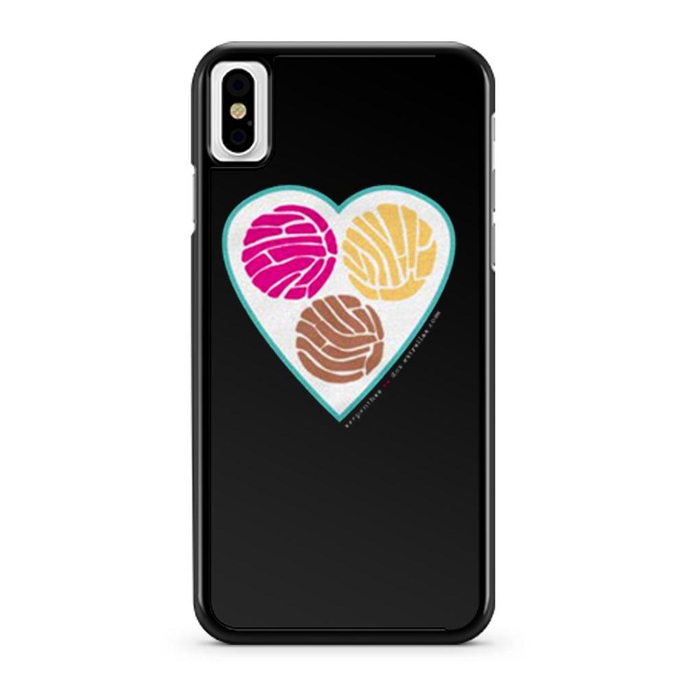 TRES PUNTOS de SABOR Pan Dulce Concha iPhone X Case iPhone XS Case iPhone XR Case iPhone XS Max Case