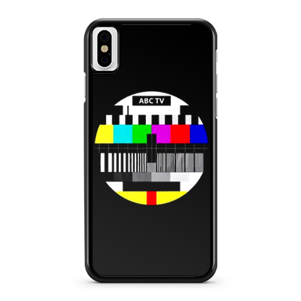 Test Pattern Television iPhone X Case iPhone XS Case iPhone XR Case iPhone XS Max Case