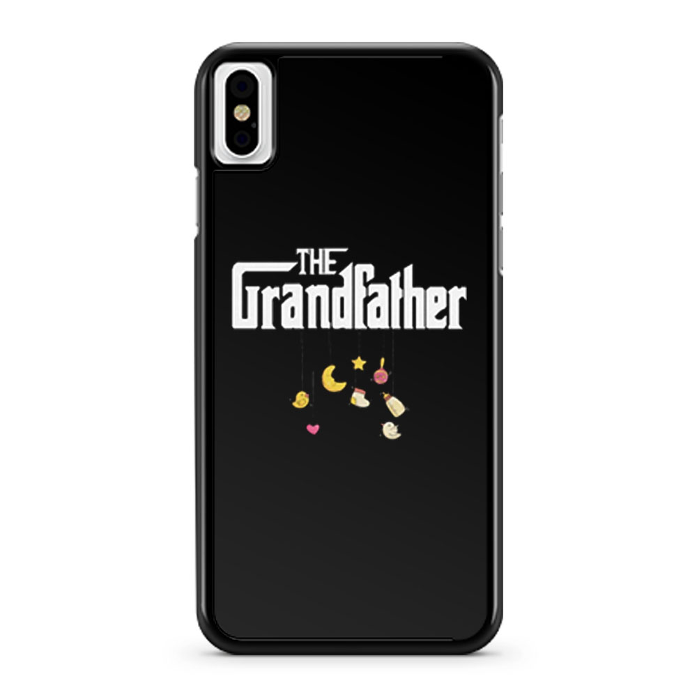 The Grandfather Granddad Baby Pregnancy Announcement First Time Grandpa iPhone X Case iPhone XS Case iPhone XR Case iPhone XS Max Case