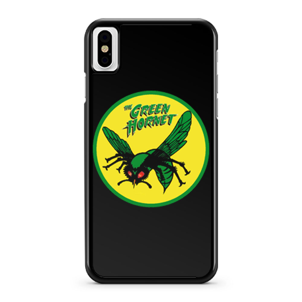 The Green Hornet iPhone X Case iPhone XS Case iPhone XR Case iPhone XS Max Case