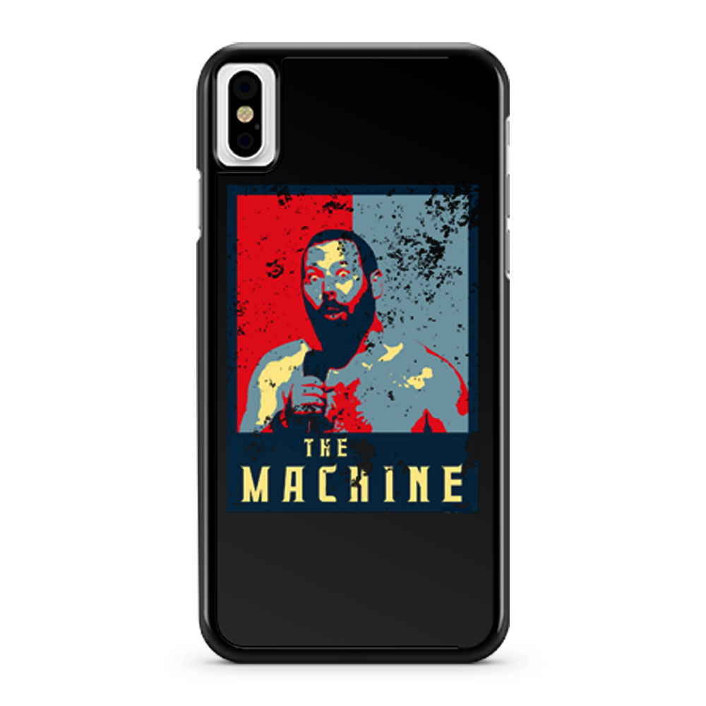 The Machine Political Bert Kreischer iPhone X Case iPhone XS Case iPhone XR Case iPhone XS Max Case