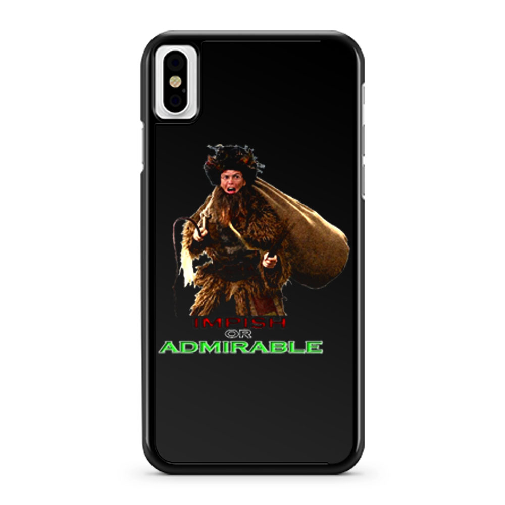 The Office Christmas Dwight Schrute Belsnickel Funny Tv Show iPhone X Case iPhone XS Case iPhone XR Case iPhone XS Max Case