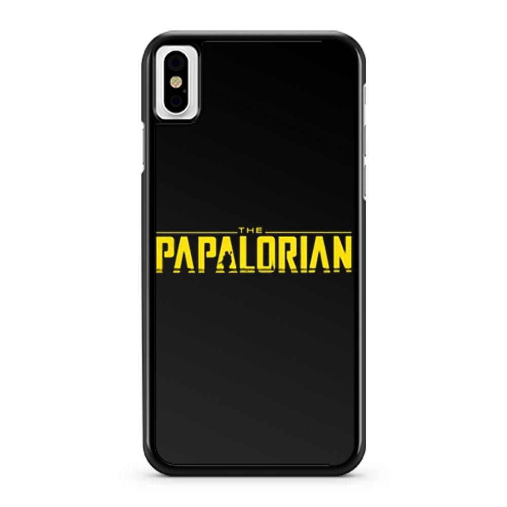 The Papalorian Mandalorian Star Wars iPhone X Case iPhone XS Case iPhone XR Case iPhone XS Max Case