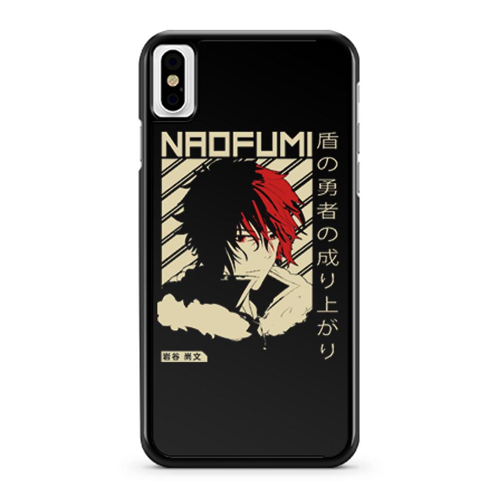 The Rising of the Shield Hero Naofumi iPhone X Case iPhone XS Case iPhone XR Case iPhone XS Max Case
