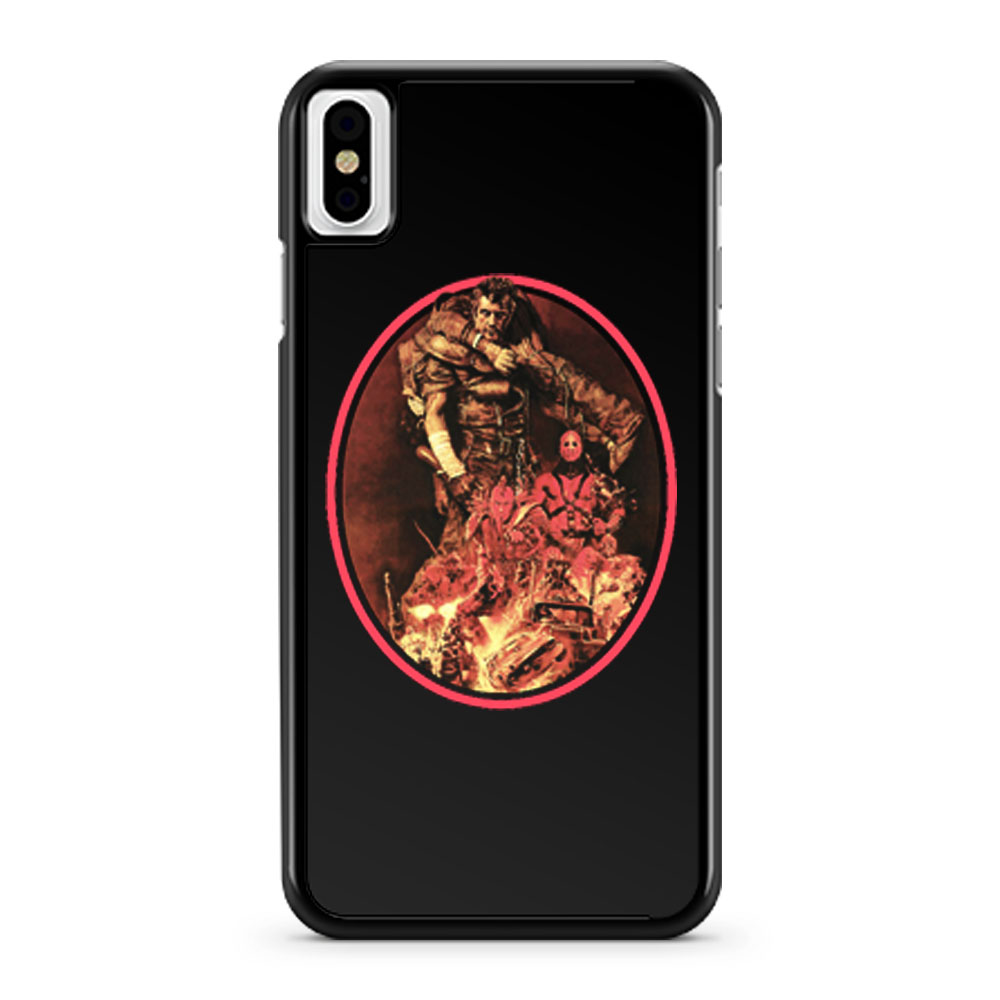 The Road Warrior Japanese iPhone X Case iPhone XS Case iPhone XR Case iPhone XS Max Case