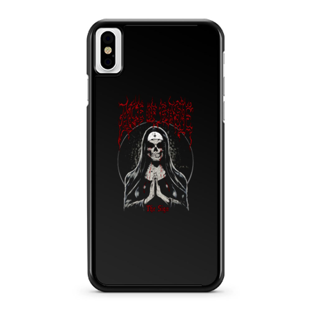 The Sign Ace Of Ease iPhone X Case iPhone XS Case iPhone XR Case iPhone XS Max Case