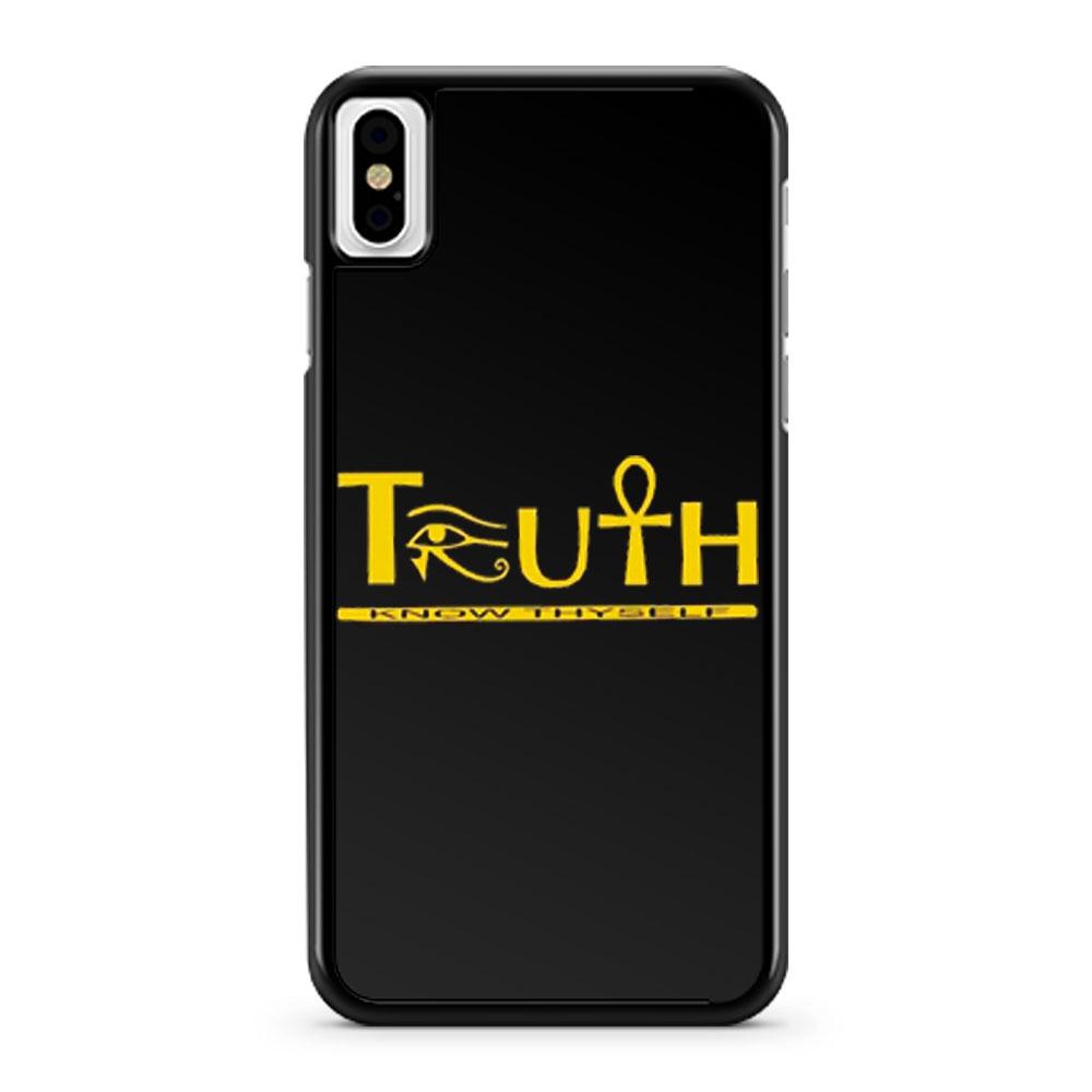 Truth Eye of Horus Eye of Heru iPhone X Case iPhone XS Case iPhone XR Case iPhone XS Max Case