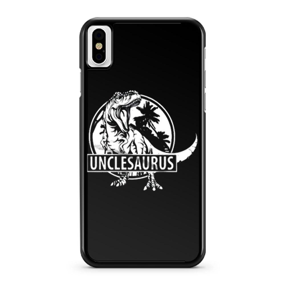Unclesaurus Dinosaur Uncle Funny iPhone X Case iPhone XS Case iPhone XR Case iPhone XS Max Case