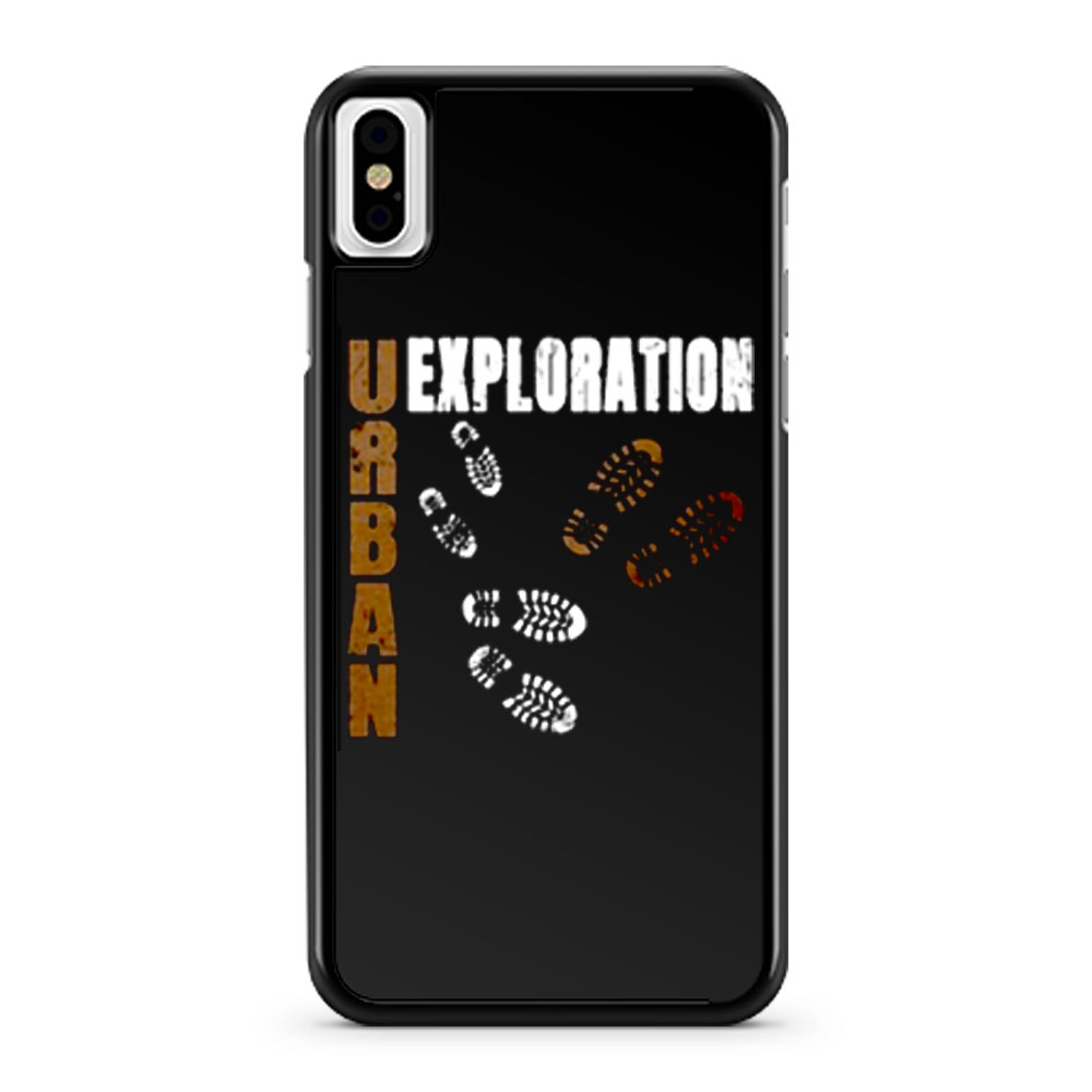 Urban Exploration Urbex Lost Places iPhone X Case iPhone XS Case iPhone XR Case iPhone XS Max Case