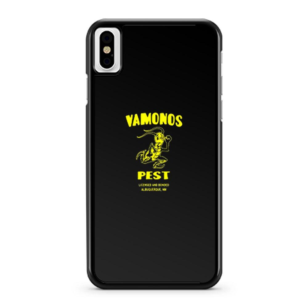 VAMONOS PEST Ant iPhone X Case iPhone XS Case iPhone XR Case iPhone XS Max Case