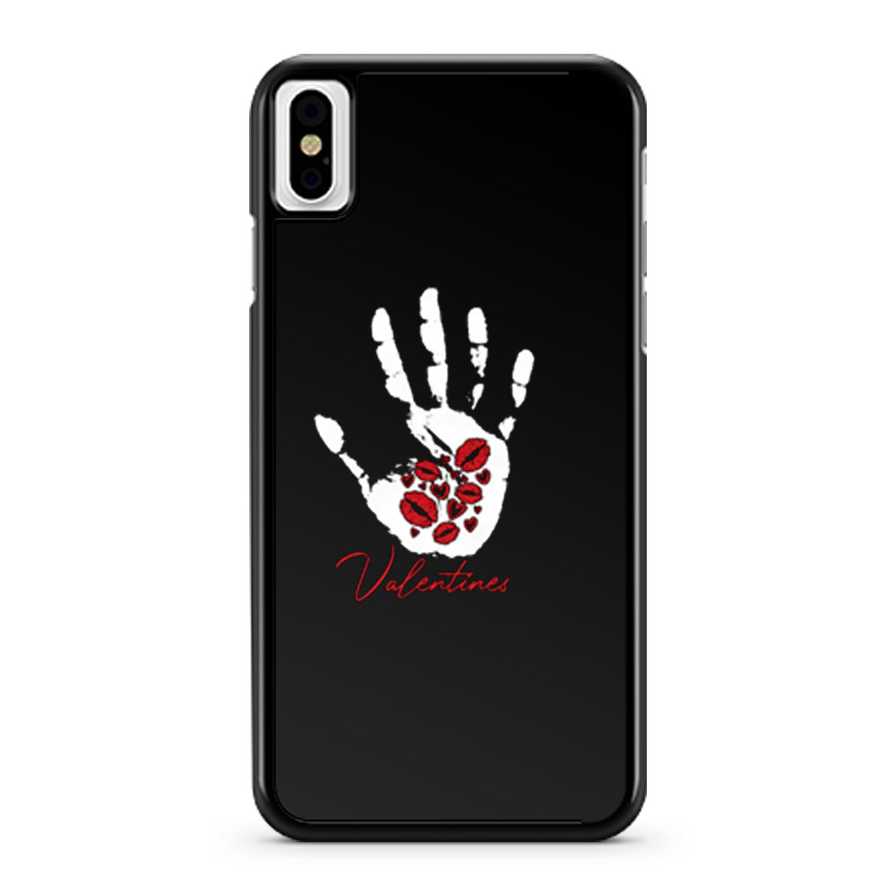 Valentines Day Kisses Hearts Day Love iPhone X Case iPhone XS Case iPhone XR Case iPhone XS Max Case