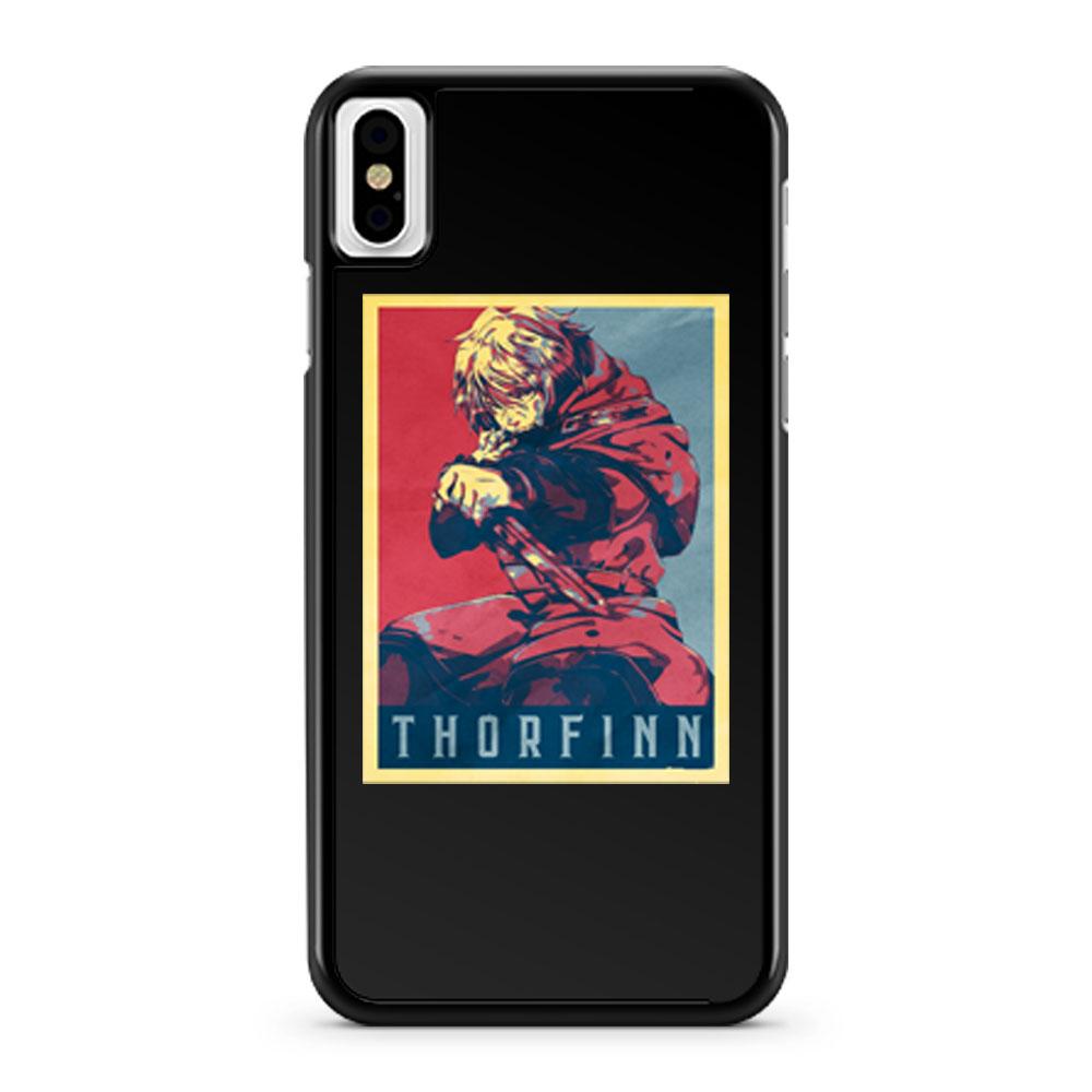 Vinland Saga Thorfinn Political iPhone X Case iPhone XS Case iPhone XR Case iPhone XS Max Case