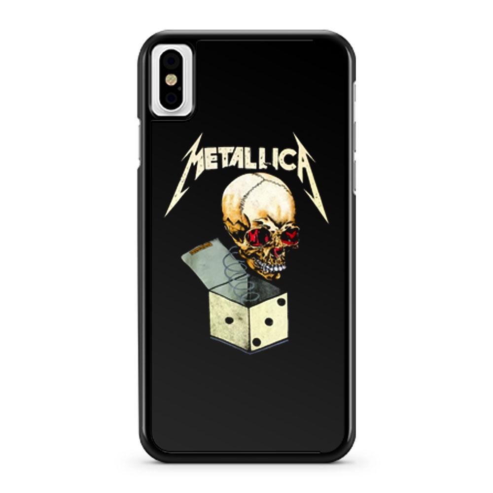 Vintage Metallica Pushead Art iPhone X Case iPhone XS Case iPhone XR Case iPhone XS Max Case
