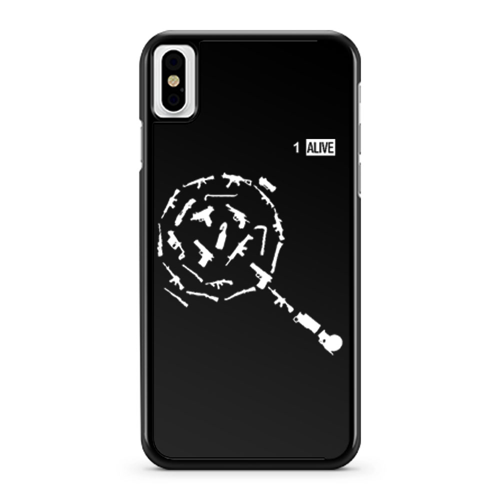 Weapons of PUBG iPhone X Case iPhone XS Case iPhone XR Case iPhone XS Max Case