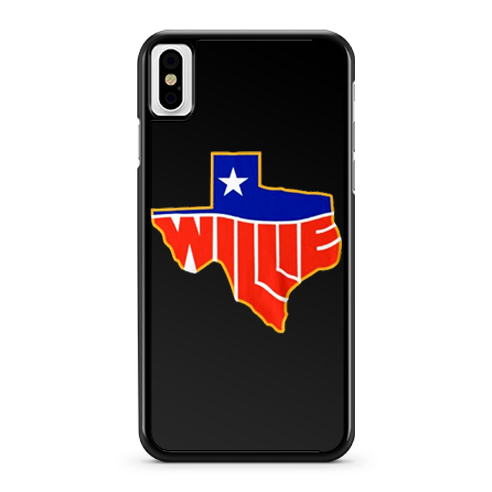 Willie Nelson Lone State iPhone X Case iPhone XS Case iPhone XR Case iPhone XS Max Case