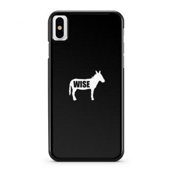 Wiseass Donkey iPhone X Case iPhone XS Case iPhone XR Case iPhone XS Max Case