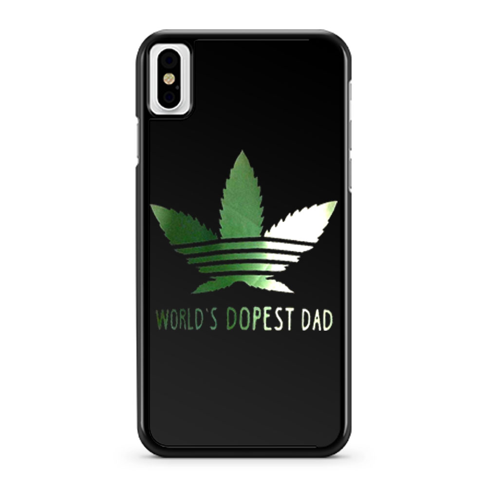 Wolrd Dopest Dad iPhone X Case iPhone XS Case iPhone XR Case iPhone XS Max Case
