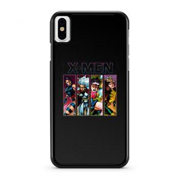X Men 90s X Ladies iPhone X Case iPhone XS Case iPhone XR Case iPhone XS Max Case