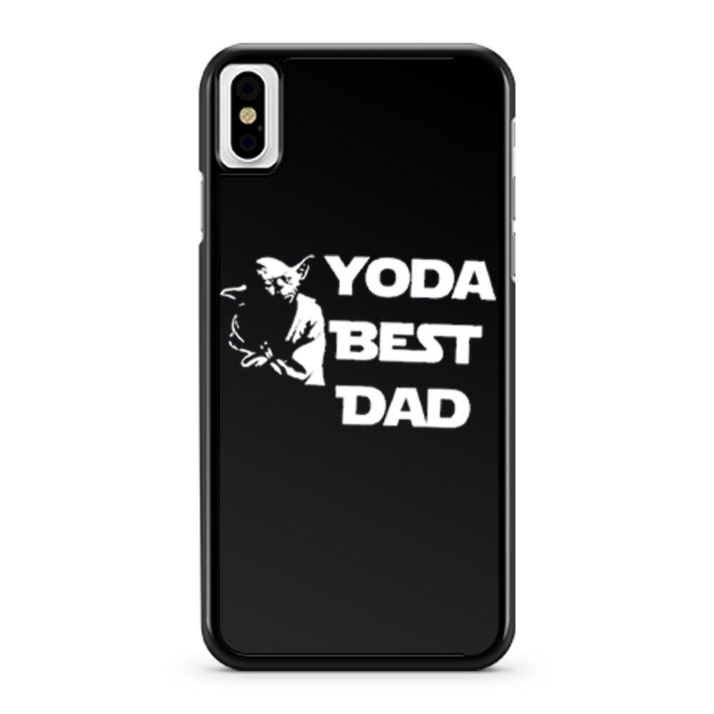 Yoda Best Dad Master Yoda Star Wars iPhone X Case iPhone XS Case iPhone XR Case iPhone XS Max Case