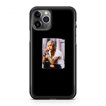 Young Albert Tattoo Einstein iPhone 11 Case iPhone 11 Pro Case iPhone 11 Pro Max Case