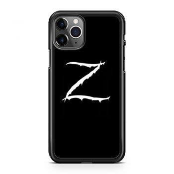 Z Logo Zorro Classic Vintage iPhone 11 Case iPhone 11 Pro Case iPhone 11 Pro Max Case