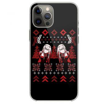 Zero Two Christmas Darling in the Franxx iPhone 12 Case iPhone 12 Pro Case iPhone 12 Mini iPhone 12 Pro Max Case