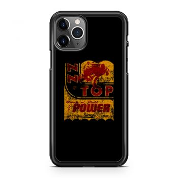 Zz Top Oil Power Band iPhone 11 Case iPhone 11 Pro Case iPhone 11 Pro Max Case